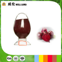 Red beet root extract water soluble fine powder food colorant