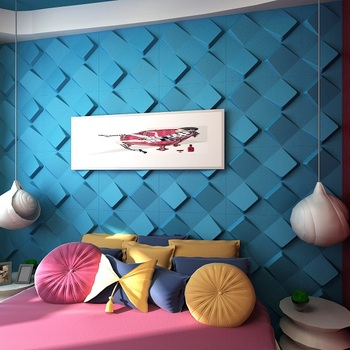 vintage home decoration with 3d wall papers