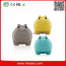 animal pvc hippo shape usb 8 gb, pvc hippo usb 1 terabyte usb flash drive