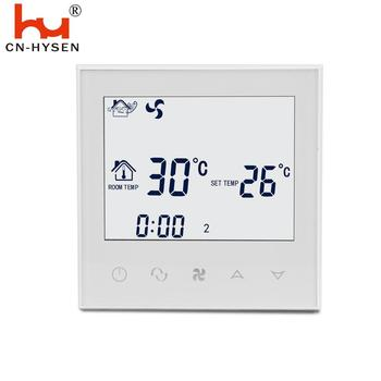 HY03AC HVAC system fcu air-conditioner thermostat wholesale lcd touch screen temperature controller