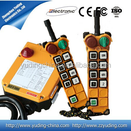 Supply High Quality and Best Service Radio Inudstrial Remote Control F24-8D