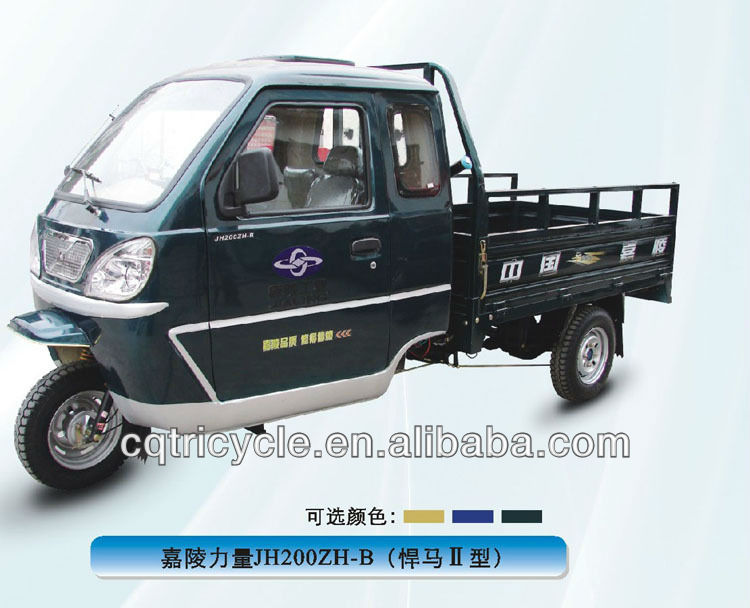3 wheel adlut motorized tricycle transport vehicle for cargo