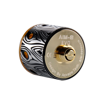 2018 Trending Products Asvape AIM-9 EVO RDA Atomizer with 0.75ml Capacity