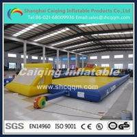 2015 new inflatable water soccer field/football field/inflatable soccer court