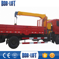 China Mini Pickup Truck Crane Truck Used Widely SQ4SA2 CE/ISO9001Certification