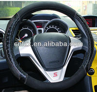 Guangzhou car steering wheel oover factory specialize in cool sheepskin Steering Wheel Cover with various size from 35cm to 40cm