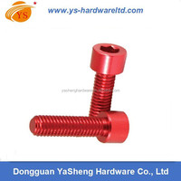 High quality DIN 912 Aluminum Socket Head Cap Screws