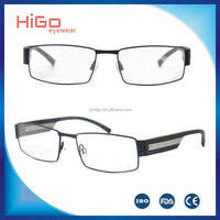 Hot selling special design stainless steel metal optical frame spectacle shop singapore online