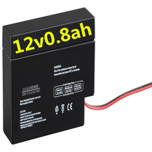 Neata Small 12 volt battery 0.8ah (6-dzm-0.8 battery)