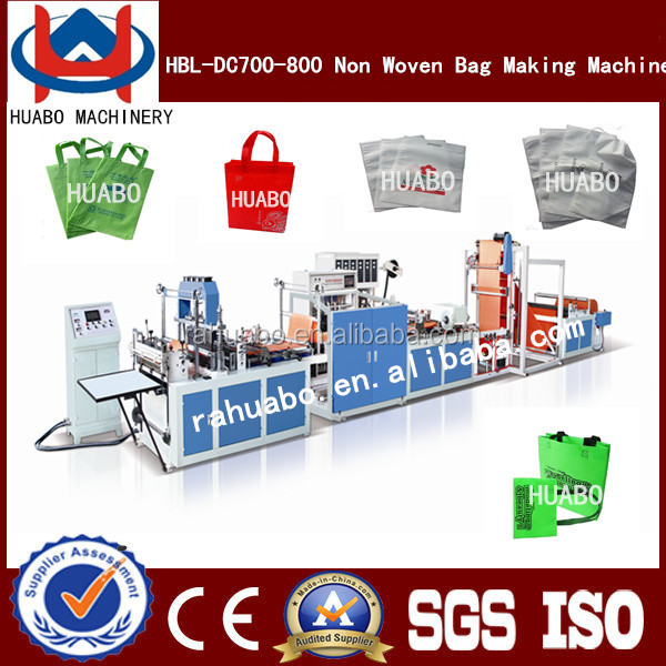 Better machine automatic bottom cut and sealing bagging making machine