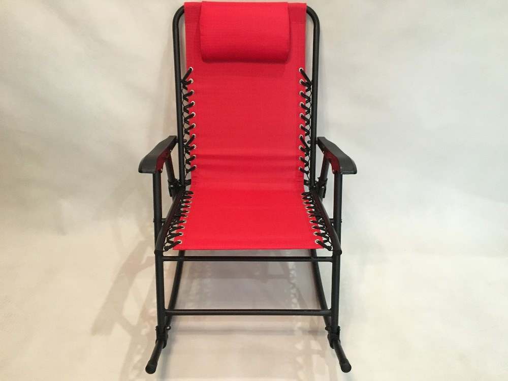 rocking beach chair, rocking chair iron, metal frame rocking chair