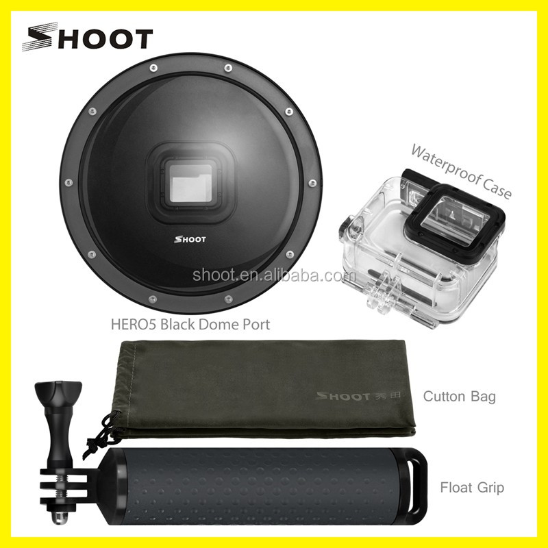 SHOOT Dome Port for Gopro 5, Underwater Camera Diving Lens dome for Hero 5
