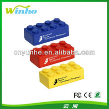 Building blocks,PU building blocks stress ball,stress reliever toys