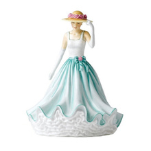 customized resin figure young beautiful lady figurine