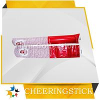 china supplier led flashing cheering stick,air bang sport stick,party favors noise makers
