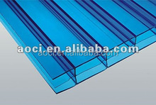 UV-protect polycarbonate sheet plastic roofing sheet