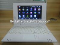 "7"" WM8650 Android 2.2 mini laptop,Notebook 702"