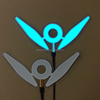 customized die cut shape blue light EL backlight panel