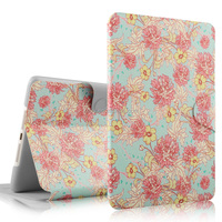 PU case for ipad mini ,cartoon case for tablet manufacturer for ipad mini