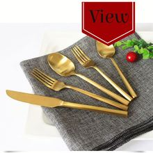High quality hotel cutlery set stainless steel 18/10 flatware german flatware