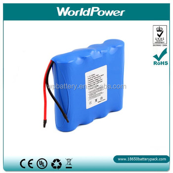 14.8V 2200mAh rechargeable medical equipment battery pack