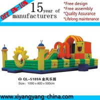 Hot sale animals giant kids inflatable bouncer