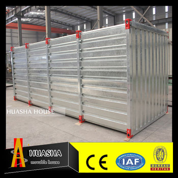 Container portable prefabricated storage house
