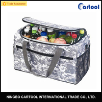 Semiconductor Insulated Portable Beer Cans Cooler Bag 30L 12V