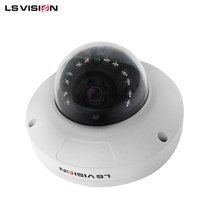 LS Vision 4MP POE Wall-Mounted Dome P2P IP External Camera Indoor