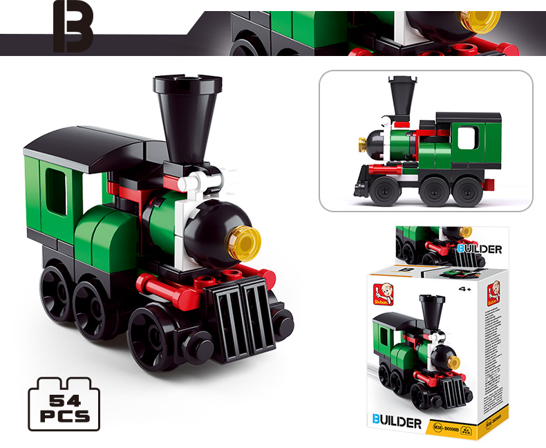 kids toys educational learning building blocks locomotive toy train for whoelsale