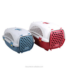 Outdoor Pet transport Box Convenient Plastic Dog Cage Dog Kennel