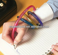 plastic 2013 new novelty gift promotion cheap China Bracelet pen