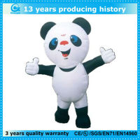 cheap giant inflatable panda outdoor,panda mascot costume