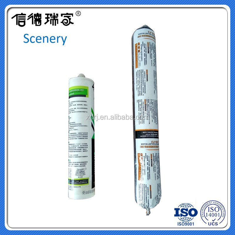 weatherable silicone sealant glass adhesive