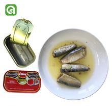 Chinese Best Oval Canned Sardine Fish Process Canning
