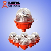 HARFOL led low intensity red aviation obstruction light/aircraft warning light/bulb/lamp for telecom tower/chimney/building