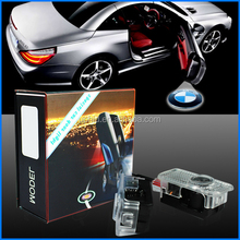Car door step led laser ghost shadow light,led logo light customizing logo projector kit