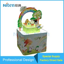 4 CYMK Cartoon Children Products/Stationery/Beauty Pop Up Display Stand Display Rack