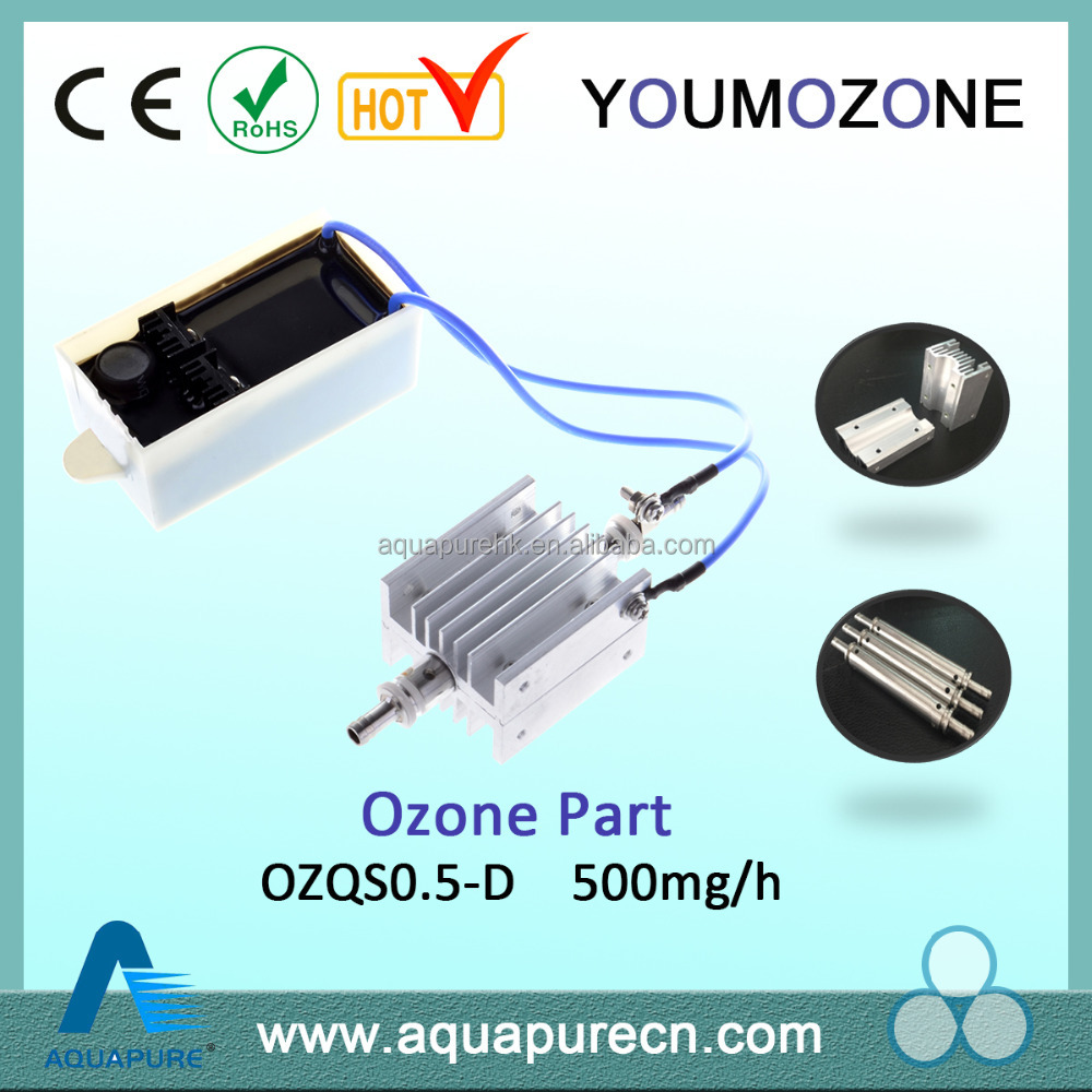 High efficiency 12 volt ozone generator spare parts for water purification
