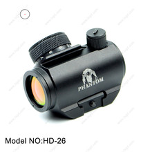 Nitrogen sight HD-26 Red Dot Scope Waterproof scopes for rifles