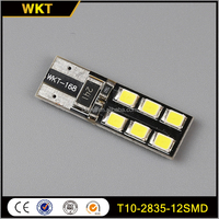 Newly hot-sale T10-2835-12SMD t10 bulb led turn light