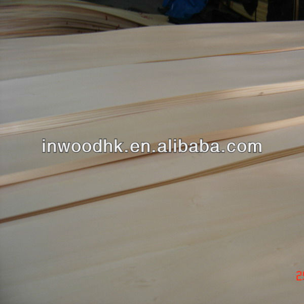 Natural Basswood Veneer for Fancy Plywood