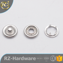 N-1225 Clothing For Cloth Different Type Of Prong Three Part Ring Maker Five Claw With Rivet Wholesale Metal Custom Snap Button
