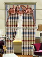 Indoor stripe style home closeout curtain