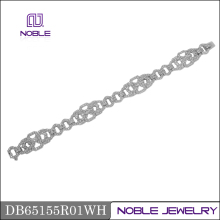 fine jewelry 18k white gold diamond bracelet for women