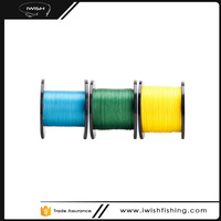 Strongest Fishing Line 4 Stands Green Yellow Bule Power Braided Line