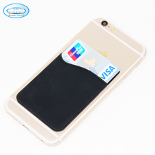 High Quality Silicone Credit Card Holder Phone, Silicone Card Holder Adhesive Phone Card Holder