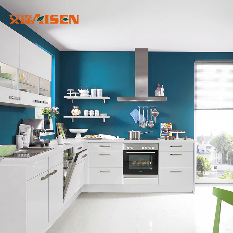Sample available factory directly prefab kitchen cabinet Furniture for sale