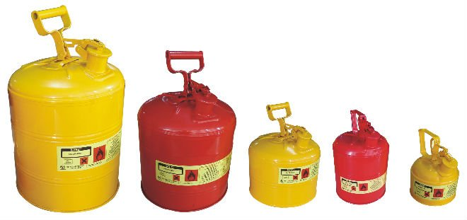 Safety Cans (Solvent,Petrol,Thinner,Kerosene,Chemical,Oil)