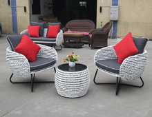 2015 wicker outdoor furniture Rattan sofa furniture /ratan garden furniture sectional sofa WF-009